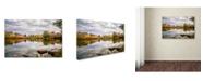 "Trademark Global Jason Shaffer 'Morgan Street 4' Canvas Art - 19"" x 12"""