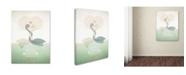 "Trademark Global Christian Jackson 'Paraducks' Canvas Art - 32"" x 22"""