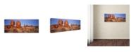 "Trademark Global David Evans 'Devils Marbles' Canvas Art - 19"" x 6"""