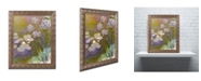 "Trademark Global Monet 'Waterlilies and Agapanthus' Ornate Framed Art - 16"" x 20"""
