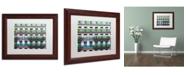 "Trademark Global Preston 'Parisian Apartments' Matted Framed Art - 11"" x 14"""
