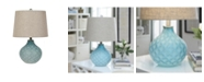 """Crestview Collection 22"""" Glass Table Lamp"""