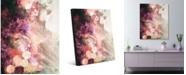 "Creative Gallery Miasma Waves Abstract Portrait Metal Wall Art Print - 16"" x 20"""