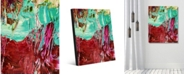 """Creative Gallery Avalanche Abstract Portrait Metal Wall Art Print - 16"""" x 20"""""""