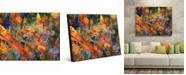 """Creative Gallery El Dorado Abstract Portrait Metal Wall Art Print - 16"""" x 20"""""""