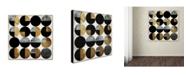 "Trademark Global Color Bakery 'Conversation' Canvas Art - 14"" x 14"""