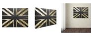 "Trademark Global Color Bakery 'Fashion Flag IV' Canvas Art - 24"" x 32"""
