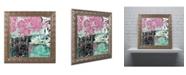 "Trademark Global Color Bakery 'Serendipity II' Ornate Framed Art - 16"" x 16"""