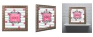 "Trademark Global Color Bakery 'Soul Food I' Ornate Framed Art - 11"" x 11"""