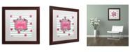 """Trademark Global Color Bakery 'Soul Food I' Matted Framed Art - 16"""" x 16"""""""
