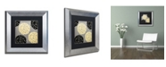 "Trademark Global Color Bakery 'English Garden VI' Matted Framed Art - 11"" x 11"""