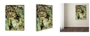 "Trademark Global Color Bakery 'Leopard Ink' Canvas Art - 35"" x 47"""