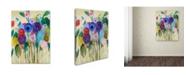 """Trademark Global Carrie Schmitt 'Cest La Vie' Canvas Art - 24"""" x 32"""""""