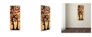 "Trademark Global Natasha Wescoat '012' Canvas Art - 14"" x 32"""