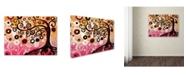 "Trademark Global Natasha Wescoat '062' Canvas Art - 14"" x 19"""