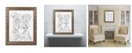 """Trademark Global Dean Russo 'Beware CB' Ornate Framed Art - 11"""" x 14"""""""