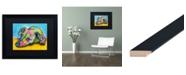 "Trademark Global Dean Russo 'I'm Waiting' Matted Framed Art - 16"" x 20"""