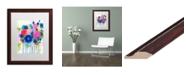 """Trademark Global Carrie Schmitt 'Aimez Beaucoup' Matted Framed Art - 16"""" x 20"""""""
