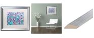 """Trademark Global Carrie Schmitt 'Joy Unleash' Matted Framed Art - 16"""" x 20"""""""