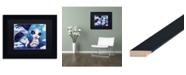 "Trademark Global Natasha Wescoat 'Ice Mermaid' Matted Framed Art - 11"" x 14"""