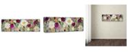 """Trademark Global Carrie Schmitt 'Hand in Hand' Canvas Art - 8"""" x 24"""""""