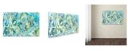 "Trademark Global Carrie Schmitt 'Ujjayi Pranayama' Canvas Art - 22"" x 32"""