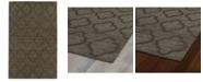 Kaleen Imprints Modern IPM02-40 Chocolate 8' x 11' Area Rug