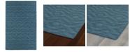 Kaleen Imprints Modern IPM04-78 Turquoise 8' x 11' Area Rug