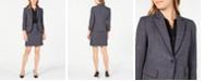 Anne Klein Twill Jacket, Shirred-Seam Blouse & Twill Skirt