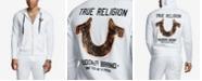 True Religion Men's Big T Horseshoe Zip Up Hoodie