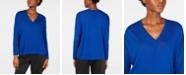 Eileen Fisher V-Neck Tencel Top, Regular & Petite