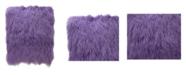 "Moe's Home Collection Lamb Fur Large Pillow 22"" x 7"""