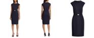 Lauren Ralph Lauren Belted Ponte-Knit Dress