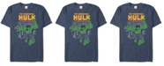 Marvel Men's Comic Collection Vintage The Hulk Stamp Short Sleeve T-Shirt