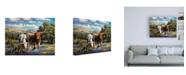 "Trademark Global R W Hedge Living Legends Canvas Art - 27"" x 33.5"""