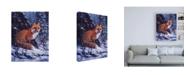 "Trademark Global R W Hedge Audible Hush Canvas Art - 36.5"" x 48"""