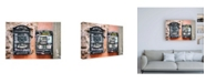 "Trademark Global Philippe Hugonnard Dolce Vita Rome Letters Box II Canvas Art - 19.5"" x 26"""
