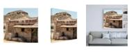 "Trademark Global Philippe Hugonnard Made in Spain 3 Wild West Facade Canvas Art - 15.5"" x 21"""
