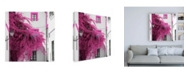 """Trademark Global Philippe Hugonnard Made in Spain 3 Pink Tree in Seville Canvas Art - 15.5"""" x 21"""""""
