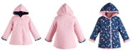 First Impressions Baby Girls Cotton Quilted Reversible Jacket, Created for Macy's
