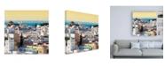 "Trademark Global Philippe Hugonnard Made in Spain 3 City of Cadiz at Sunset Canvas Art - 15.5"" x 21"""