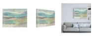 "Trademark Global Jennifer Goldberger Planes of Blue II Canvas Art - 15.5"" x 21"""