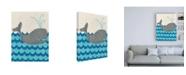 "Trademark Global Chariklia Zarris Trumans Voyage III Childrens Art Canvas Art - 36.5"" x 48"""