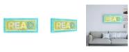 "Trademark Global Megan Meagher Read Canvas Art - 36.5"" x 48"""
