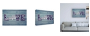 "Trademark Global Design Turnpike KY State Love Canvas Art - 27"" x 33.5"""