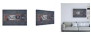 "Trademark Global Design Turnpike WA State Love Canvas Art - 36.5"" x 48"""