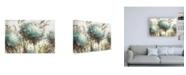 "Trademark Global Lisa Audit Hydrangea Field Neutral Canvas Art - 27"" x 33.5"""