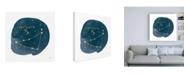 "Trademark Global Moira Hershey Horoscope Capricorn Canvas Art - 36.5"" x 48"""