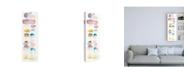 "Trademark Global Elyse DeNeige Watercolor Swatch Panel I - Lavender Canvas Art - 36.5"" x 48"""