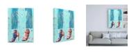"""Trademark Global Pamela K. Bee Red Heels Canvas Art - 19.5"""" x 26"""""""